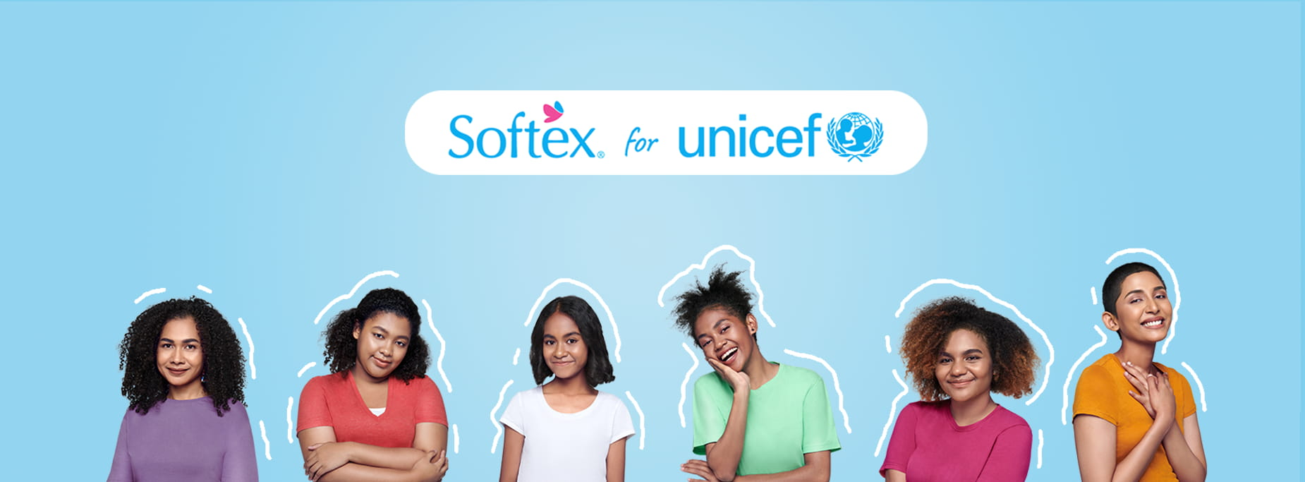 SOFTEX FOR UNICEF Banner